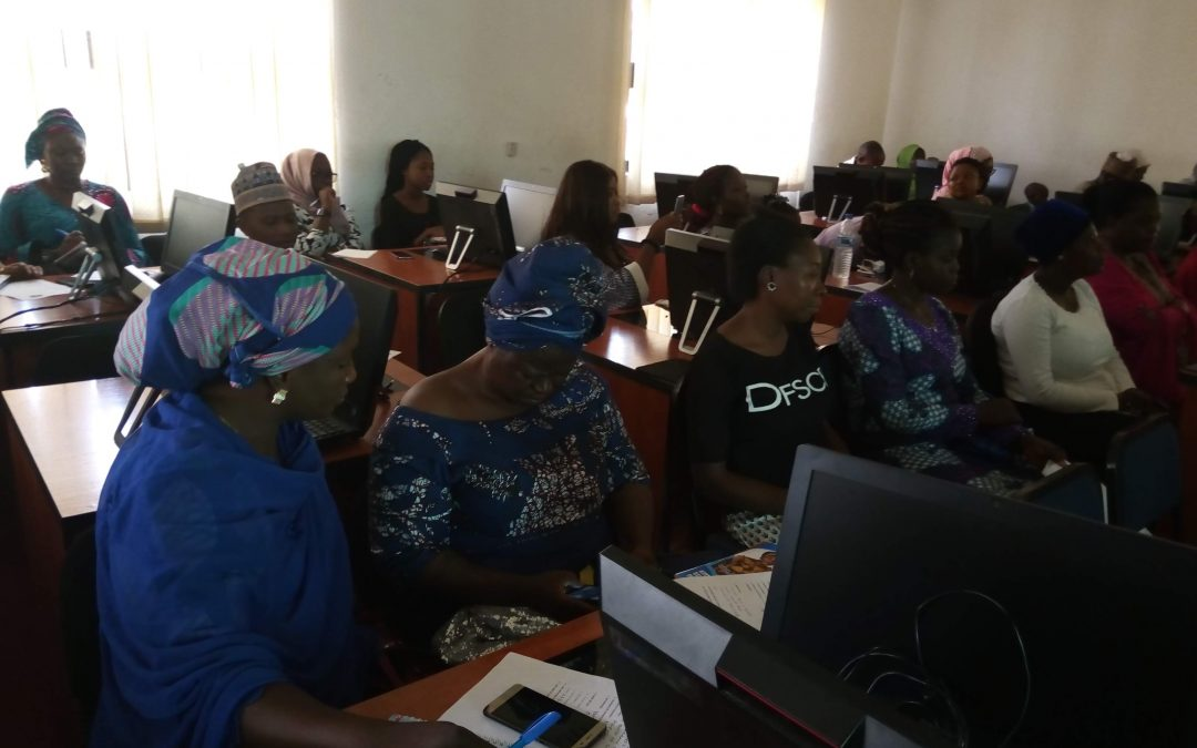 KOWGO Training for Female MSEs in FCT @ NCWD