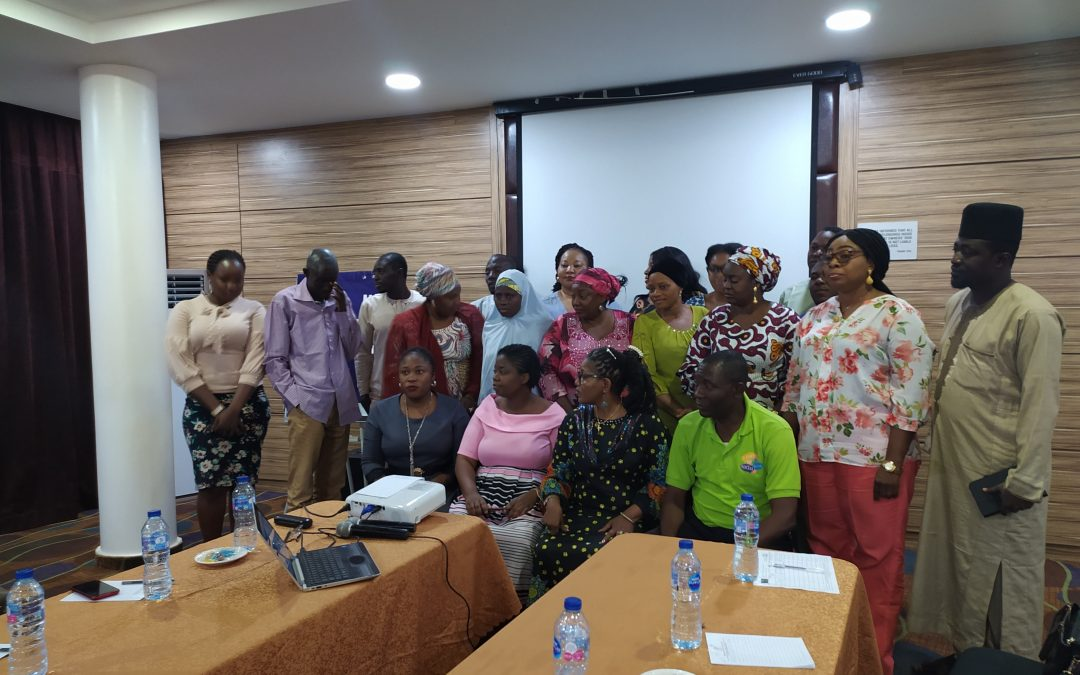 Training of FCT GBV Protection Officers on VAPP Act and GBV Protection Services, Principles, Manuals, Tools, Templates and Standards @ Treasure Suite Hotel Abuja